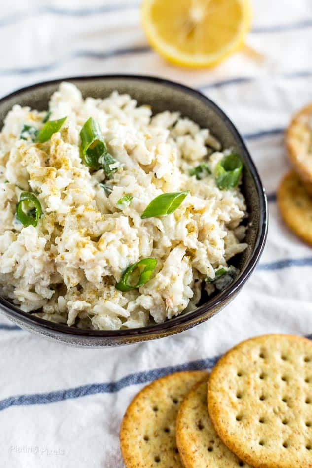 Creamy Rice and Crab Dip Appetizer recipe - platingpixels.com