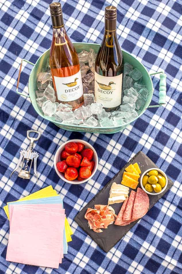 Spring Date Idea Simple Patio Picnic Plating Pixels