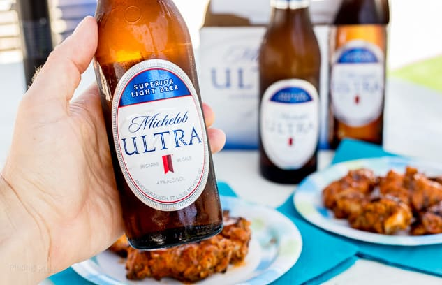 Michelob Ultra paired with Father's Day Recipes - platingpixels.com