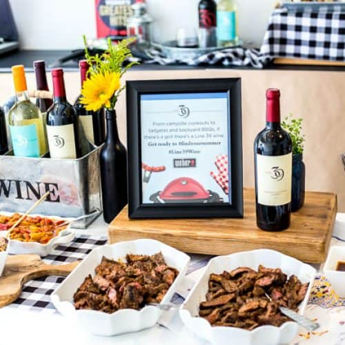 Line 39 Wine Tasting Event in San Francisco and Grilled Food Wine Pairing