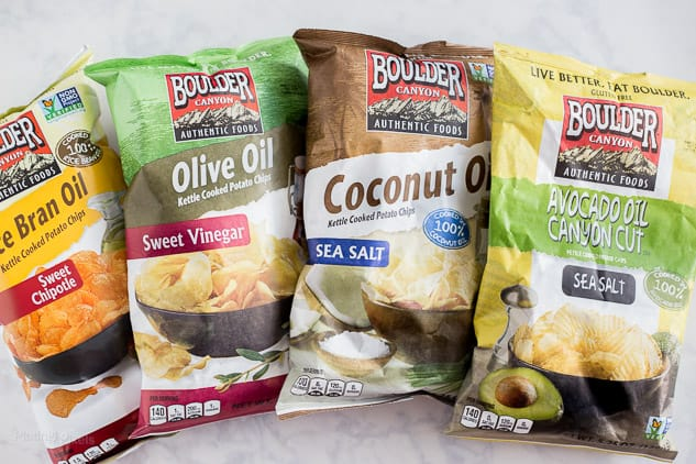 Boulder Canyon potato chips - Better for You Snacks that Fit Into a Healthy Lifestyle - platingpixels.com