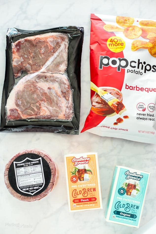 Ingredients for grilled Ribeye Steak - platingpixels.com