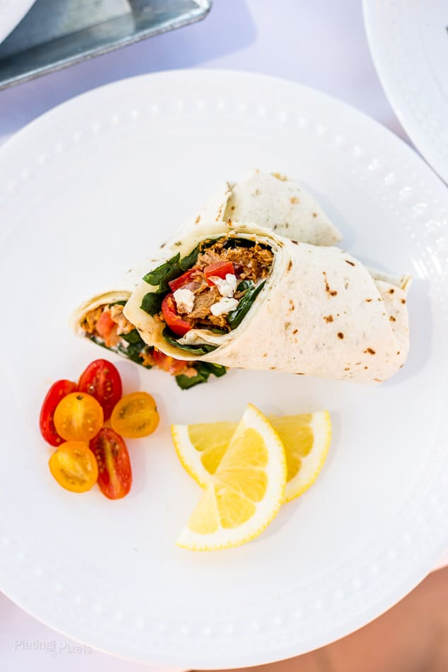 Spinach & Feta Tuna Wrap