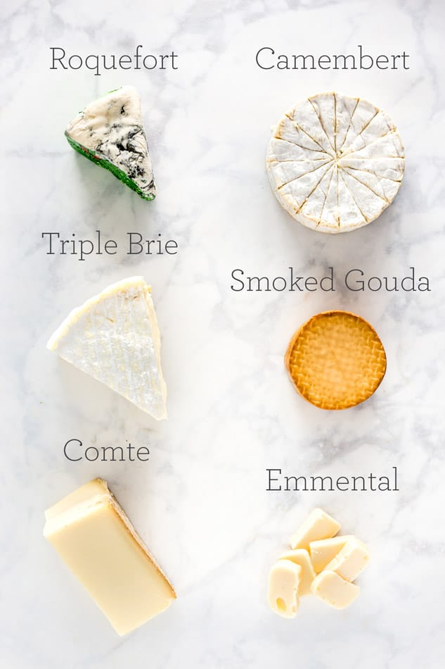 Simple Cheese Pairings with Cheeses of Europe - platingpixels.com