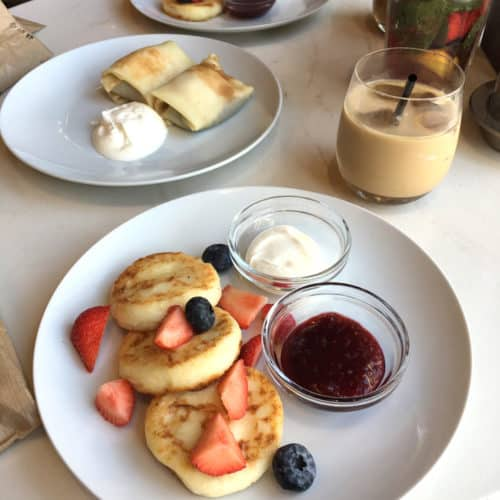 Moscow Restaurant Recommendations