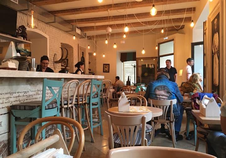Table view at Pirosmani Restaurant