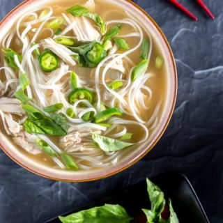 Easy Slow Cooker Chicken Pho Soup Recipe