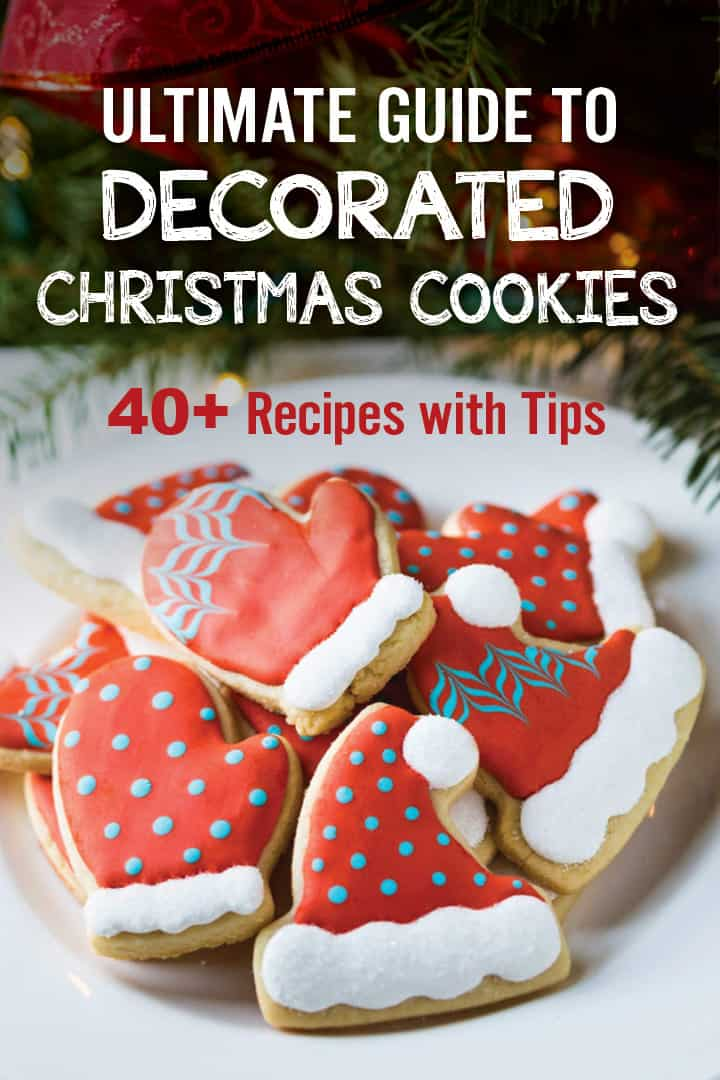 Ultimate Guide To Decorated Christmas Cookies 40 Recipes Plating