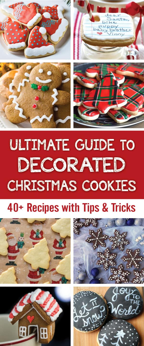 Ultimate Guide to Decorated Christmas Cookies (40+ recipes with tips ...