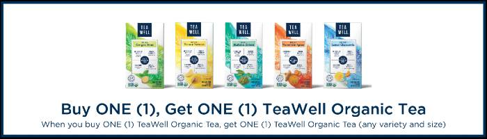 TeaWell BOGO Offer Badge Sprouts