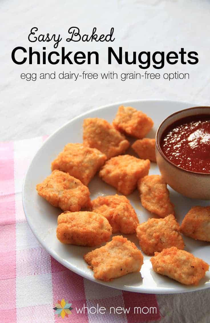Easy Chicken Nuggets from a Chicken Breast