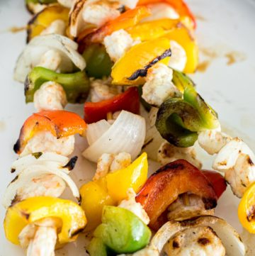 Grilled Shrimp Fajitas Skewers