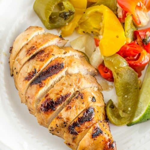 Easy Grilled Chicken Fajitas